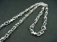 shiny stainless steel necklace with fantasy casting links 187M