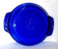 """Cobalt Blue Anchor 9"""" 1 qt. Casserole Dise Oven  Microware Safe."""