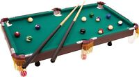 Small Foot Pool Table Full of Accessories Toy Game Cue Balls Table top