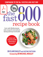 The Fast 800 Recipe Book By Dr. Clare Bailey Read discreption