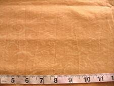 1 7/8 yd Prewashed Cotton Fabric Goldwoth Lighter Gold Swirls