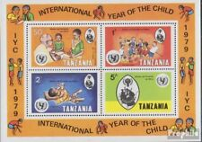 tanzanie Bloc 18 (complète edition) neuf avec gomme originale 1979 Année de Kind