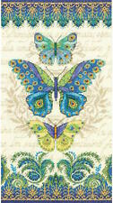 Dimensions Needlecrafts 35323 Peacock Butterflies Counted Cross Stitch Kit