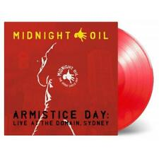 Midnight Oil Armistice Day Live at the Domain Sydney 180gm 3 LP Red Vinyl NEW