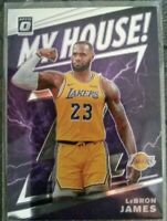 2019-20 Donruss Optic LeBron James My House Insert Los Angeles Lakers MVP!