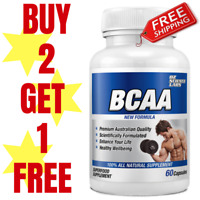 BCAAs - 60 Capsules - BRANCH CHAIN AMINO ACIDS RECOVERY Buy 2 - Get 1 FREE