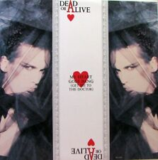 "DEAD OR ALIVE My Heart Goes Bang (Get Me To The Doctor) 12"" Single"