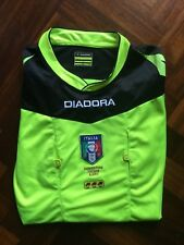 MAGLIA ARBITRO DIADORA FIGC SHIRT ITALIAN REFEREE JERSEY TRIKOT SIZE L ed998791496e