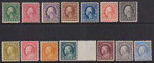 More details for united states 1913-15 washington set of 14 to - 36315