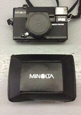 Minolta Hi Matic AFZ Point & Shoot Film Camera 38mm F2.8 Len Auto Focus W/ Case