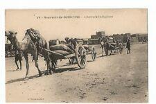 AFRIQUE , DJIBOUTI , CHARIOTS INDIGENES