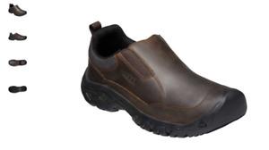 Keen Targhee III Slip-On Dark Earth/Mulch Loafer Shoes Men's US sizes 7-17 NEW!!