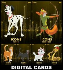 Topps Disney Collect TOPPS CLASSIC Series 2 [6 CARD ICONS MOTION SET] FAST!