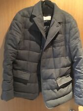 "Mens Moncler Down Grey jacket size 40"" used (size 3)"