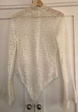 ALIX LACE BODY WITH BACK ZIP SIZE L