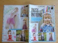FOLLETO de tejer patrón, los patrones de fiesta Vestido de Disfraz cosas para niños -