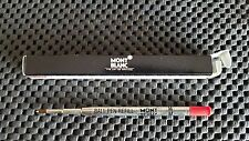1 Single Montblanc Ballpoint Refill 16210 Red - Documents