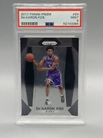 ❤️Panini Prizm De'Aaron Fox Rookie RC  #24 PSA 9 Mint Condition Kings Superstar