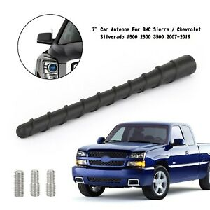 "7"" Car Antenna For GMC Sierra / Chevrolet Silverado 1500 2500 3500 2007-2019"