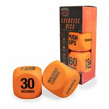 Phoenix Fitness Routine Exercise Dice, Fitness Routine Dice for Home and Gym