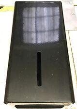 Bulk Pack Toilet Tissue Metal Dispenser Black