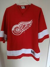 Logo Athletic Detroit Red Wings Chris Chelios # 24 Replica Hockey Jersey Men Med