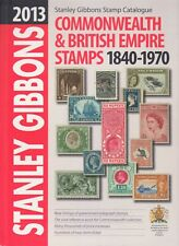 2013 STANLEY GIBBONS COMMONWEALTH & BRITISH EMPIRE STAMPS 1840-1970, HARDBACK