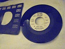 Michael Holm - Lady Love  PROMO 45 with sleeve VG+