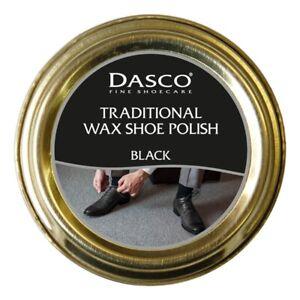 Dasco Traditional Wax Shoe Polish Boot Polish Black