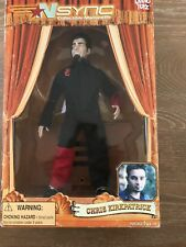 2000 Nsync Collectible Marionette Doll Chris Kirkpatrick Living Toyz In Box