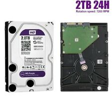 "Western Digital WD Purple 2TB 3.5"" Surveillance Internal Hard Drive SATA Ⅲ UK"