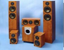 Lautsprecher Heimkinosystem SF3000 5.1 Surround System Fidelity pear Holz NEU