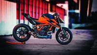 KTM 1290 Super Duke R 2020 Auto Car Art Silk Wall Poster Print 24x36""