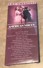 The Greatest American Voices Music CD 4 Disc Set Dan Martin Frank Sinatra NEW