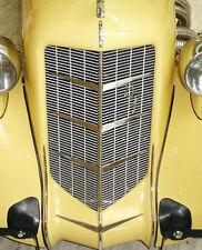 1935 851 1936 852 Auburn Automobile Grille Chevrons Grill part Speedster Chevron
