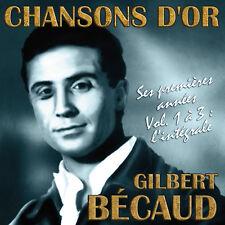 CD Chansons d'or : Gilbert Bécaud  : L'intégrale - 3 CD
