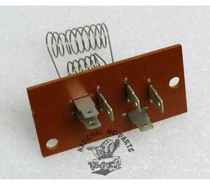 Mopar NOS 1969-73 Chrysler/Imperial Heater Blower Motor Resistor 2936106