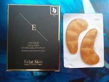 Eclat Skin London GOLD 24K COLLAGEN GOLD UNDER EYE PATCH - 5X2 Pads, BNIB, UK