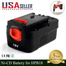 For BLACK+DECKER 18V HPB18 HPB18-OPE FS180BX 244760-00 Cordless Tool battery US