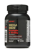 New GNC Mega Men Prostate and Virility 90 Caplets Free Shipping EXP 03/2020