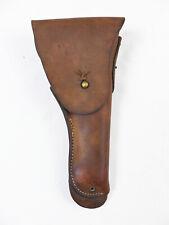 ORIGINAL US WW2 M1916 Holster Pistol Colt 1911 Government Lederholster Cal.45