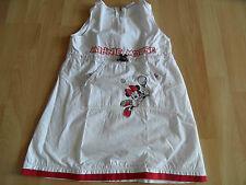 H&M DISNEY schönes Kleid Tennis Minnie weiß Gr. 104 TOP BS1115