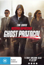 MISSION: IMPOSSIBLE Ghost Protocol DVD R4 - PAL - New