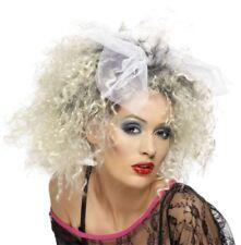 Parrucche e barbe bianchi sintetici per carnevale e teatro prodotta in Spagna