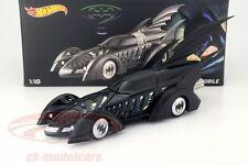 DC Comics Batmobile Movie Batman Forever 1995 1:18 hotwheels Heritage