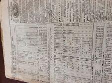 m7-4 ephemra 1885 leeds north railway timetable july train times schedule