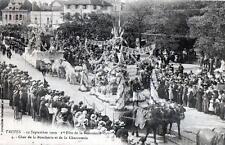 CPA 10 TROYES 12 Septembre 1909 1ere Fete de la Bonneterie Char de la Boucherie