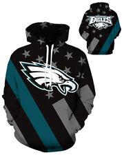 Philadelphia Eagles Hoodie Lightweight Small-XXXL 2XL Unisex Men Women Football