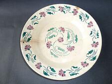 Antico piatto in ceramica di digoin sarreguemines arte popolare francese antico