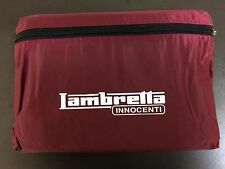 Waterproof scooter / bike cover red for Lambretta